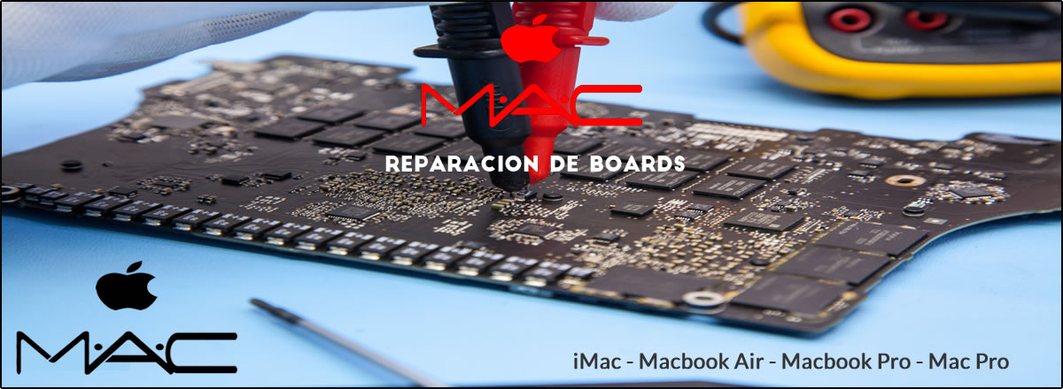 Reparacion de Boards Mac Apple